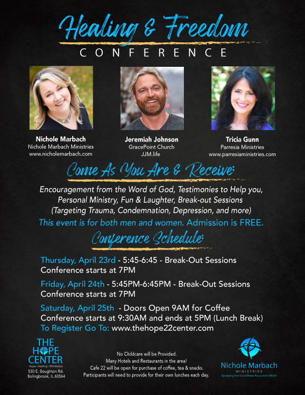 Healong & Freedom Conference With Jeremiah Johnson